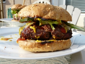 Botham Burger by Jamie Oliver