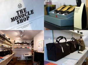 Monocle Shop in London